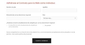 contrato web individuos